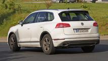 2018 VW Touareg yeni casus fotoğraflar