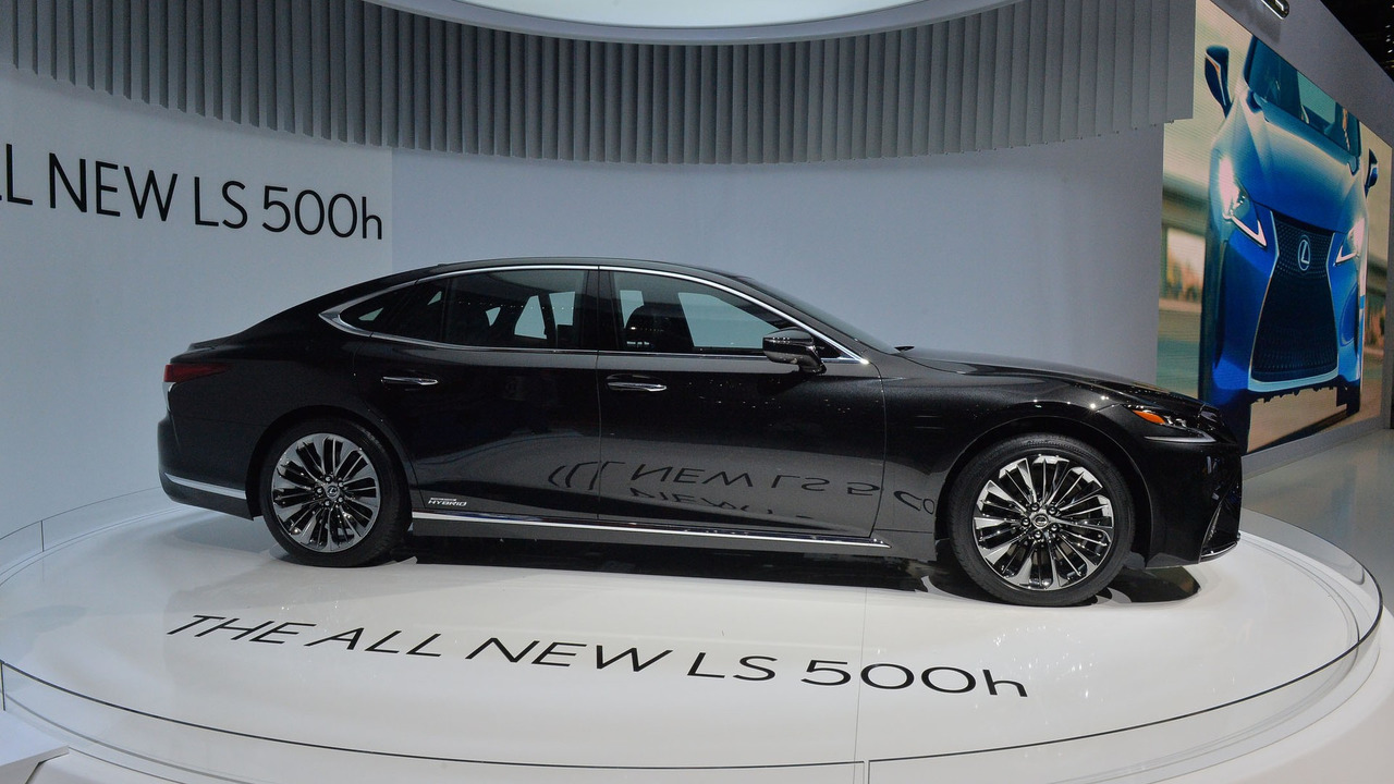 2018 Lexus Ls500h The Sophisticated Sedan For The Younger: 2018 Lexus LS 500h Is For The Eco-conscious Luxury Sedan Buyer