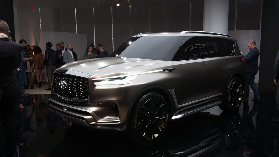 Infiniti QX80 Monograph Concept Previews Big SUVs To Come