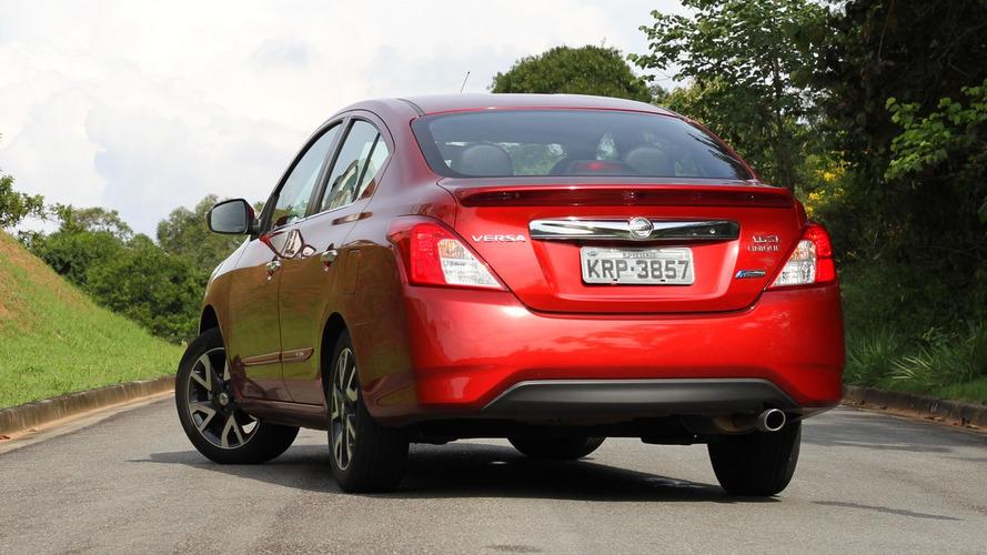 Nissan reajusta preços e deixa Versa mais caro em quase todas as versões
