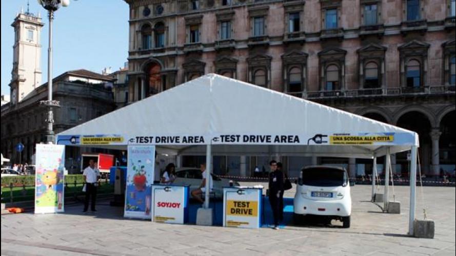 I milanesi provano l'auto ad emissioni zero (o quasi)