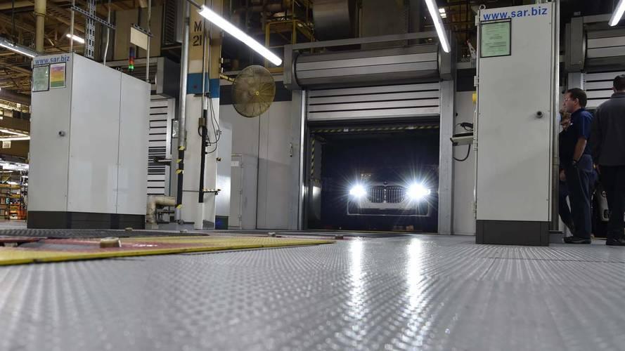 BMW X7 ön üretim
