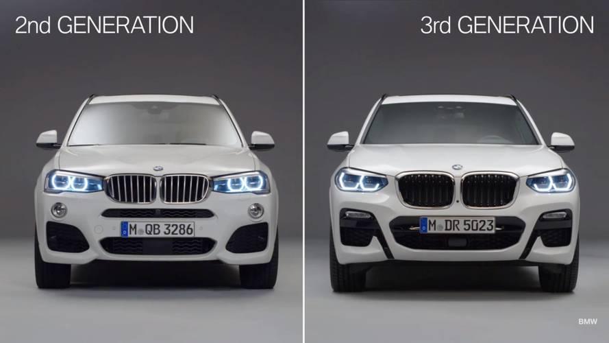 BMW X3 2018: ¿cuánto cambia respecto a su antecesor?
