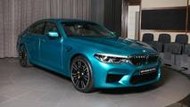 BMW M5 Snapper Rocks Blue