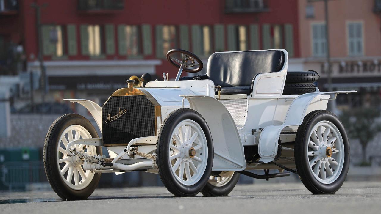 Mercedes Simplex (1902): die Vereinfachung des Autos