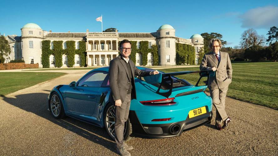 Porsche prepares 2018 Festival of Speed sculpture