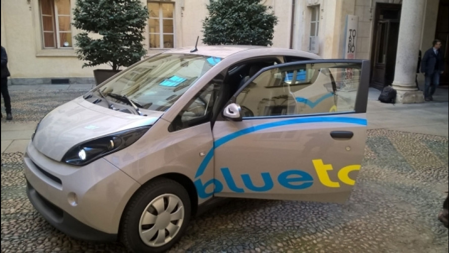 Car sharing, quello elettrico di BlueTorino entra nella fase due