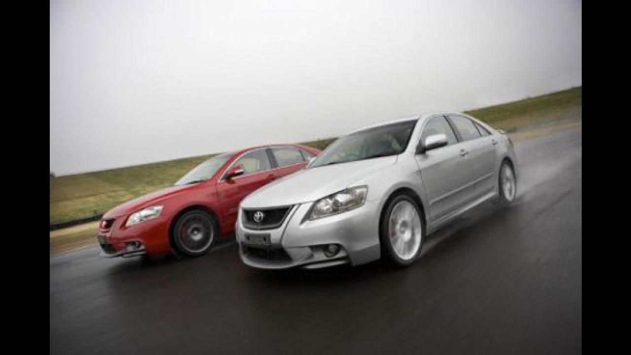 Na Austrália, Toyota lança o esportivo TRD Aurion com 323cv