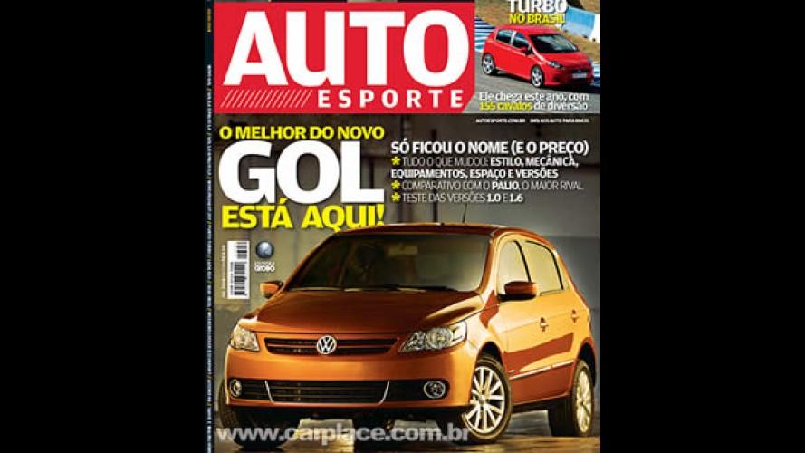 NOVO GOL e Voyage são os destaques na Revista AutoEsporte de Julho