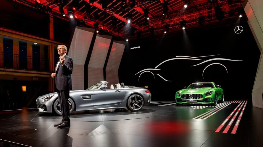 Mercedes-AMG GT C Roadster au Mondial de Paris 2016