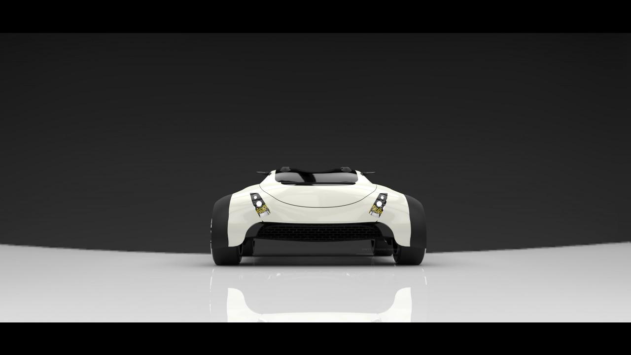 Lamborghini X-rover Concept by Prashant Choudhary