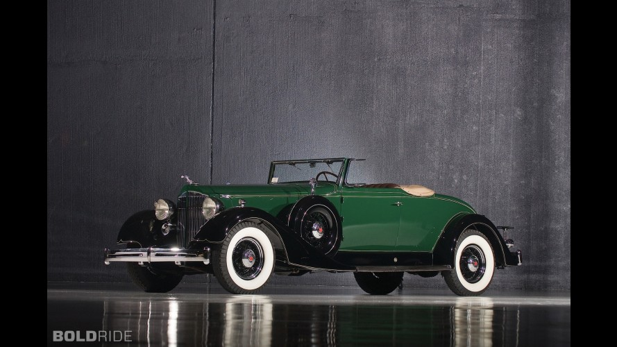 Packard Super Eight Coupe Roadster