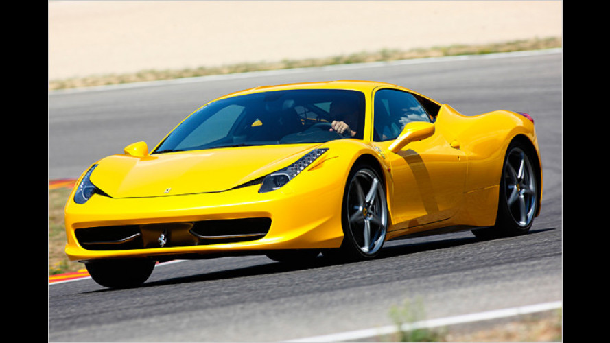 Ferrari 458 Italia wird Star im neuen Transformers-Film