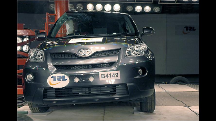 Neue EuroNCAP-Crashtests: Pleite für Toyota Urban Cruiser