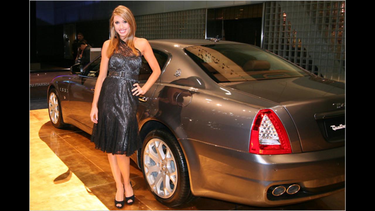 Buon giorno, Signorina, ist das ein Maserati Quattroporte?