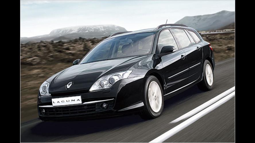 Sondermodell aus der Mittelklasse: Renault Laguna Emotion