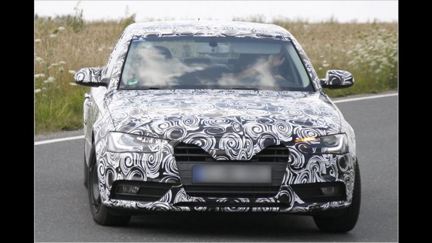 Erwischt: Audi liftet den A4