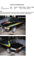 1977 Saab 99 turbo rally car 17.1.2011