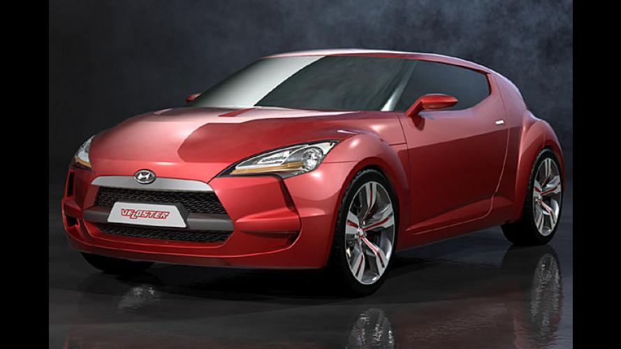 Bullig-kompakt: Hyundai Veloster zeigt sportliche Zukunft