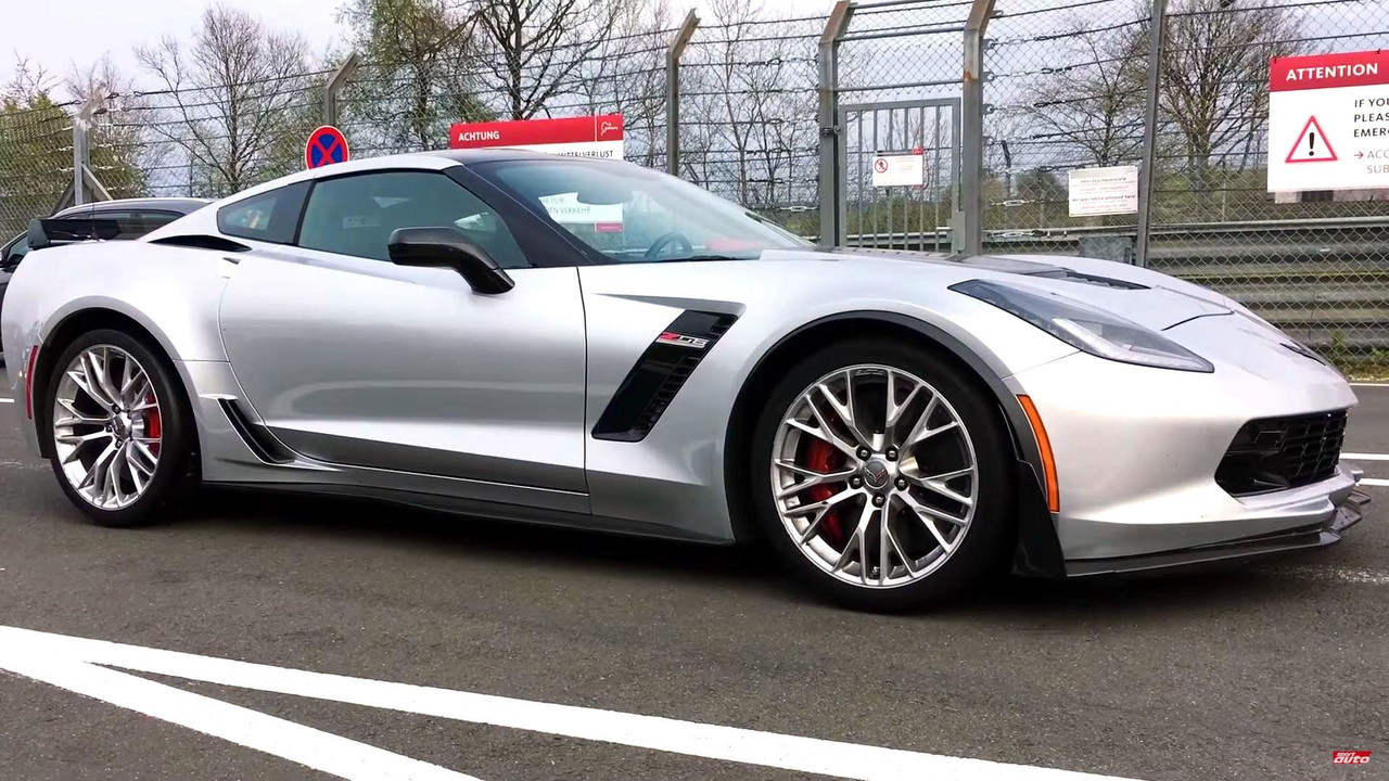 Chevy Corvette Z06 Nurburgring