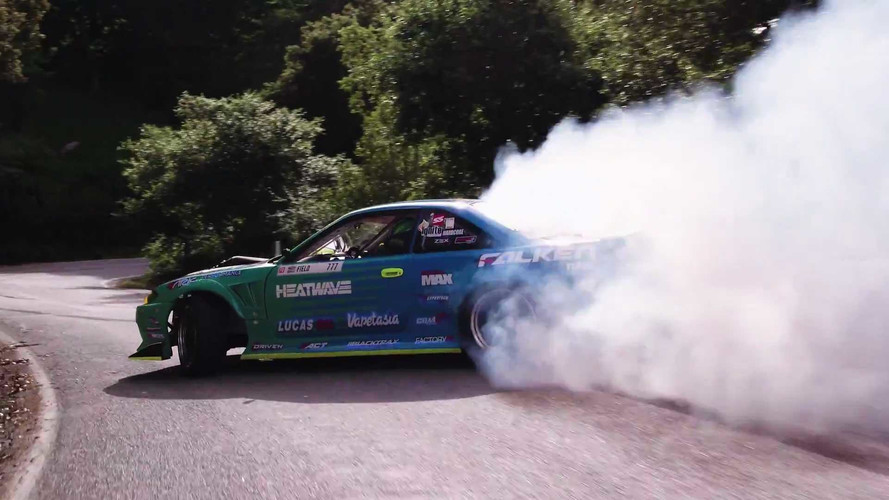This Tire-Killing 1,000-HP Nissan Takes A Touge Trip Through Cali