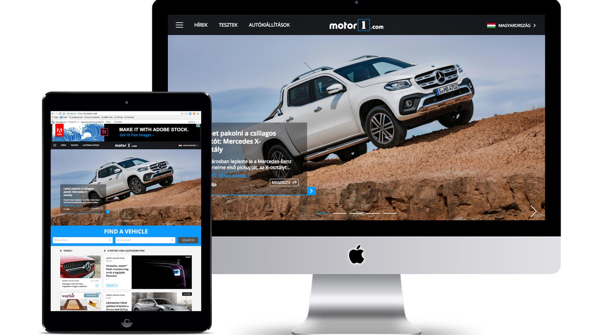 motor1 com to launch in hungary after new acquisition