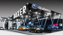 Subaru Tokyo Auto Salon teaser 26.12.2012