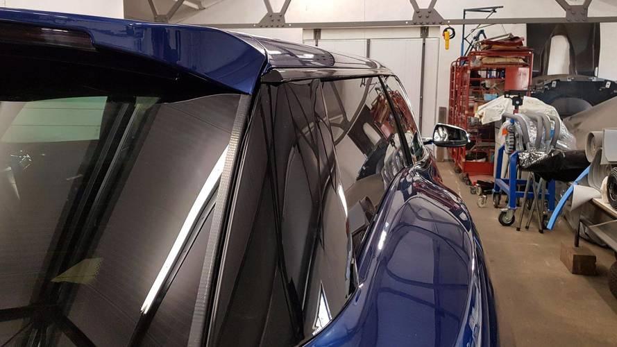 Tesla Model S Shooting Brake Reveals Its Boxy Rear End