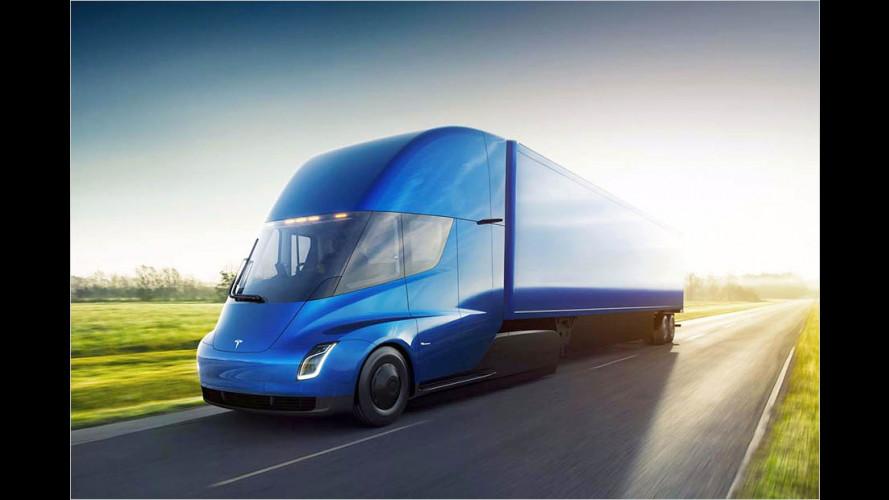 Tesla Semi: Strom-Schlepper