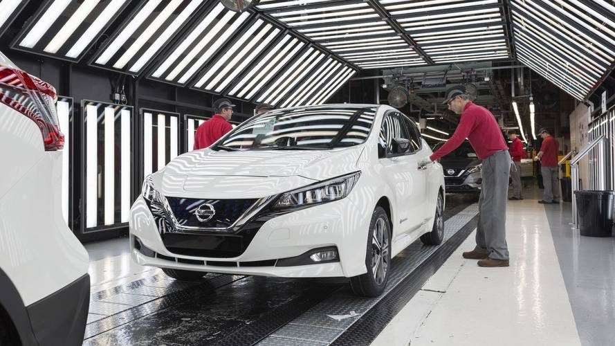 La nouvelle Nissan Leaf entre en production en Europe