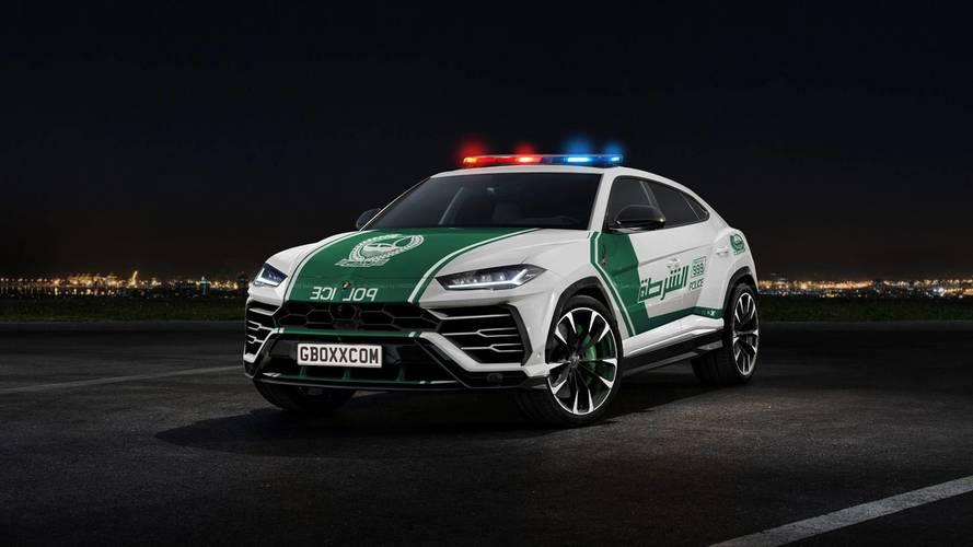 Dubaiban már biztos várják, hogy az Urus rendőrautó is megérkezzen a flottába