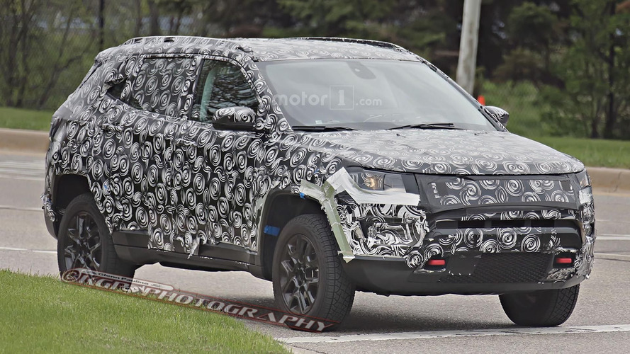Jeep Compass / Patriot replacement spy photos