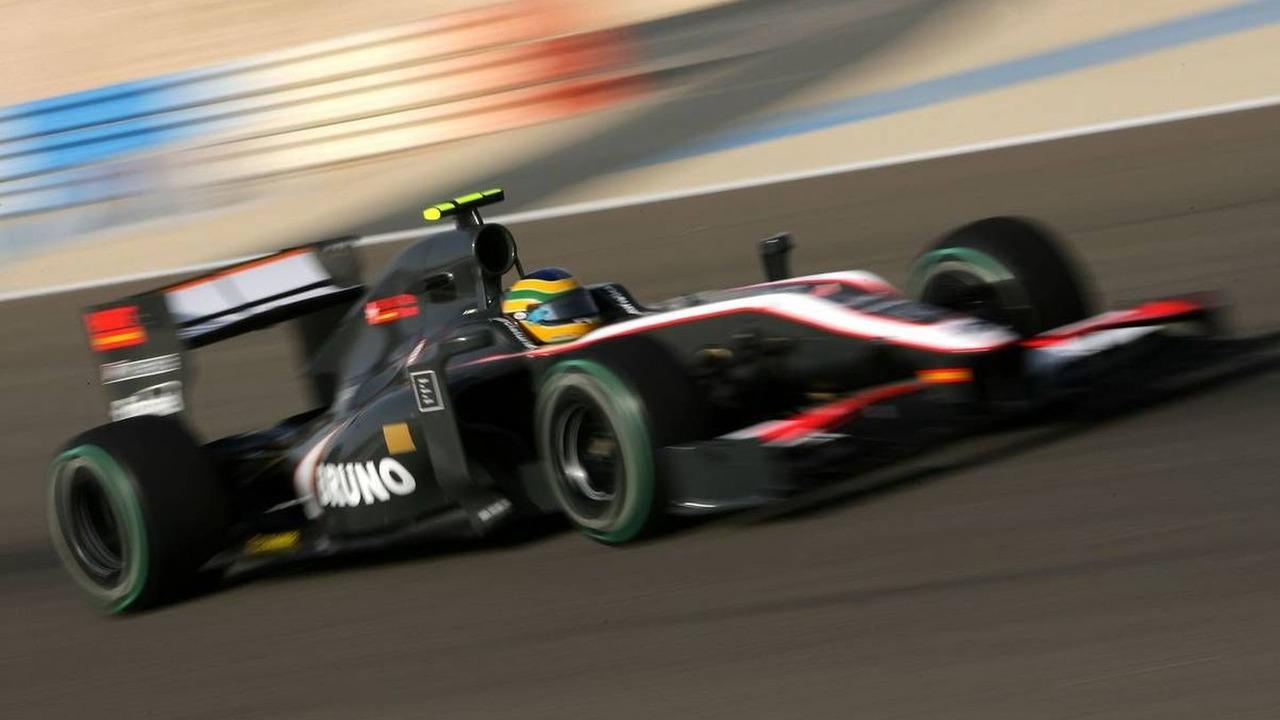 Bruno Senna (BRA), HRT F1 Team, Bahrain Grand Prix, 12.03.2010 Sakhir, Bahrain