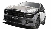 Hamann tunes the Porsche Cayenne II (958)