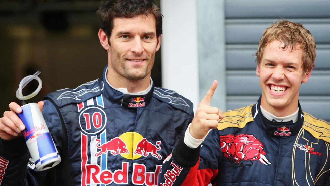 Mark Webber & Sebastian Vettel