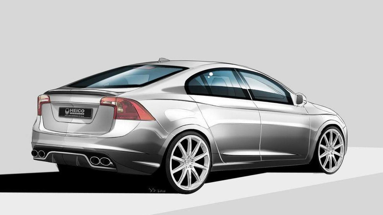 Heico Sportic first styling illustrations for Volvo S60, 1000, 23.07.2010
