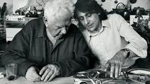 Alexander Calder with Herve Poulain