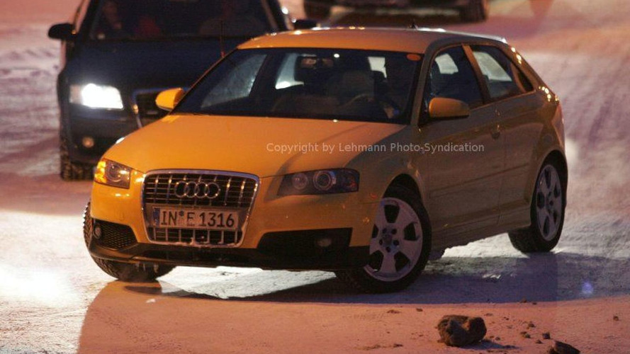 Sporty New Audi S3 Spy Photos