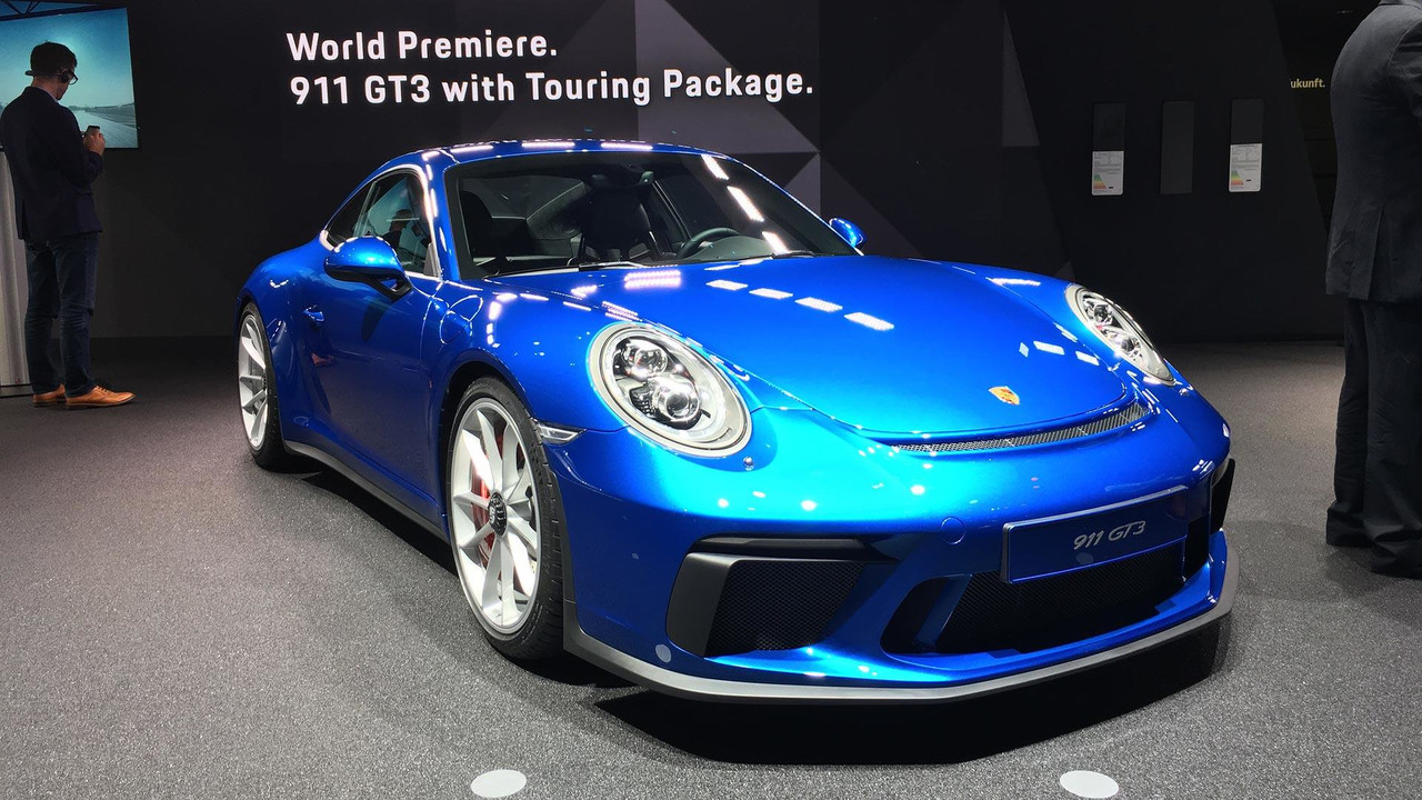 2018 porsche 911 gt3 touring package live look. Black Bedroom Furniture Sets. Home Design Ideas