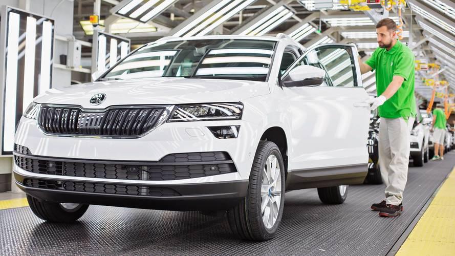 Škoda - Un million de voitures produites en 2017