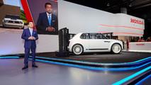 Honda CEO Takahiro Hachigo in Frankfurt