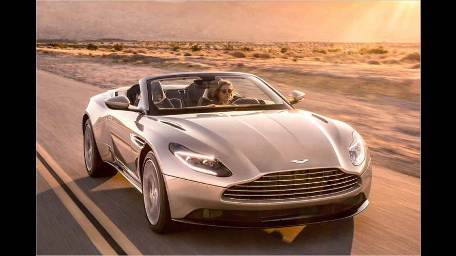 Aston Martin DB11 Volante: Feiner Luft-Zug