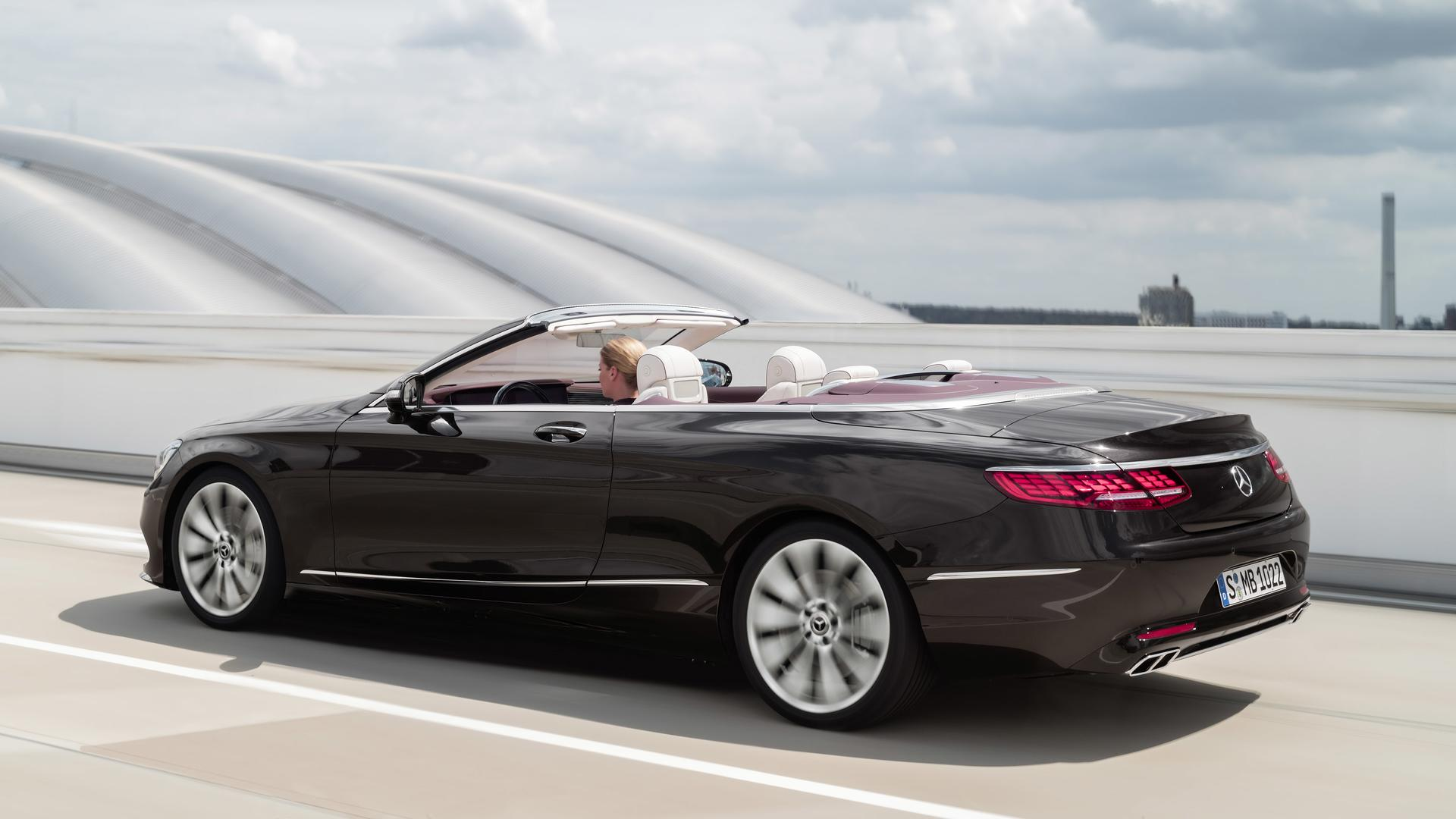 Refreshed 2018 mercedes benz s class mercedes amg s63 for Mercedes benz cabriolet 2018