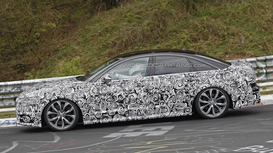 Audi S6 facelift spied in Germany