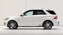 Brabus B63S based on the Mercedes-Benz ML 63 AMG 19.08.2013