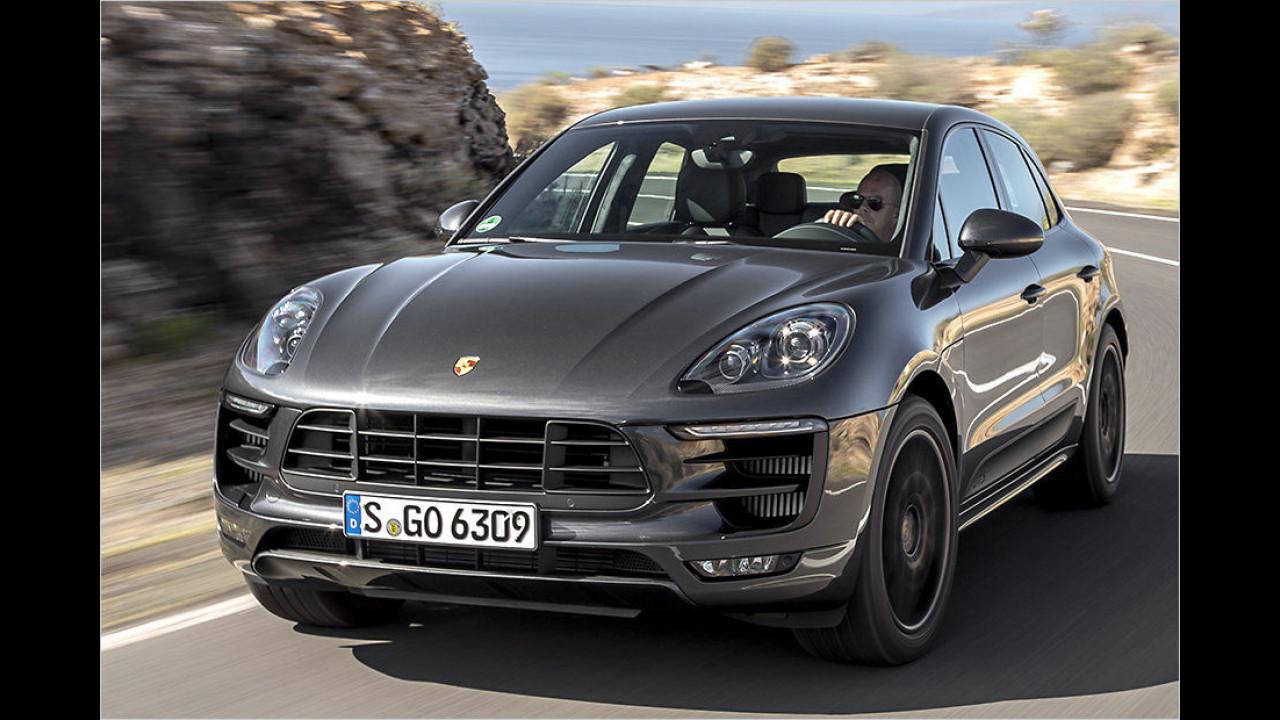 Mittlere SUVs: Porsche Macan