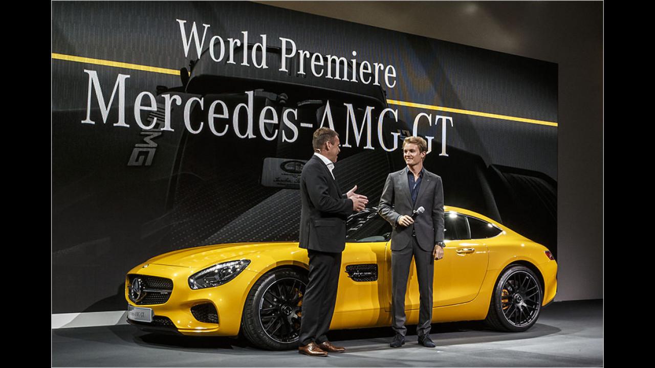 Rosberg enthüllt den AMG GT
