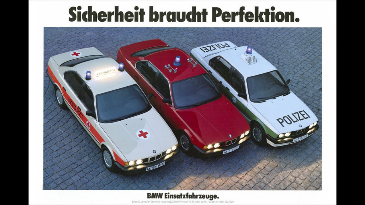 BMW 3er Polizei (um 1989)