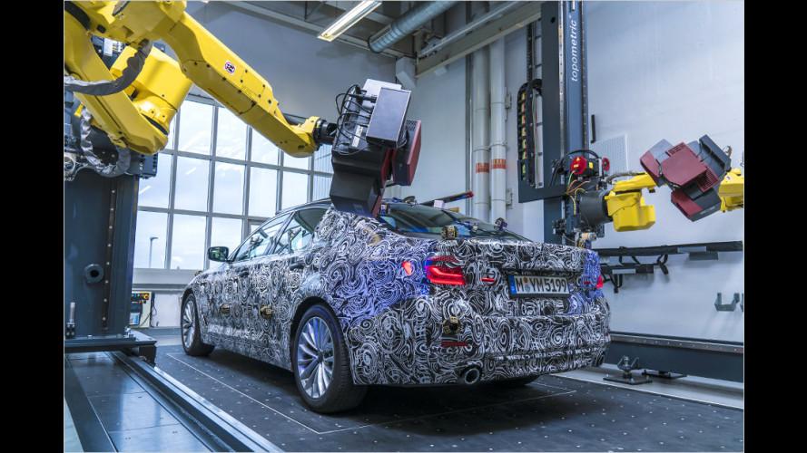 Ein Blick auf den neuen BMW 5er