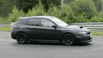 Subaru Imprezza WRX STi Hatchback Spy Photos